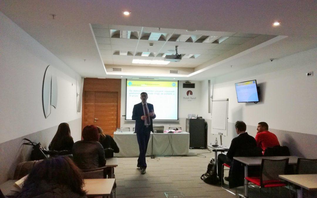 """U hotelu Aurel u Podgorici održan je seminar na temu: """"Prinosna metoda""""."""
